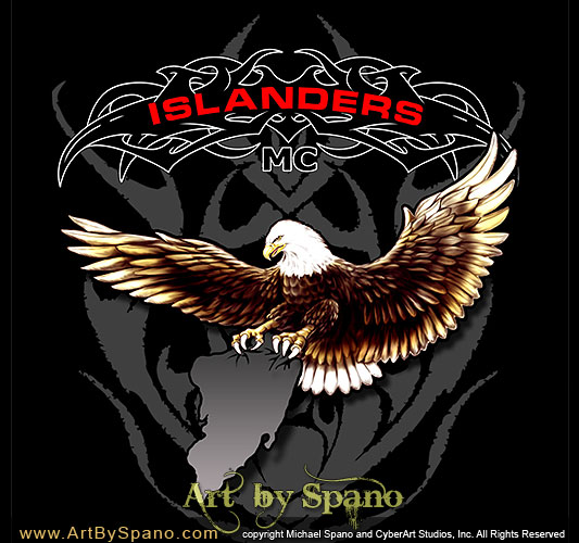 Motorcycle Club and Biker Art - Art by Spano