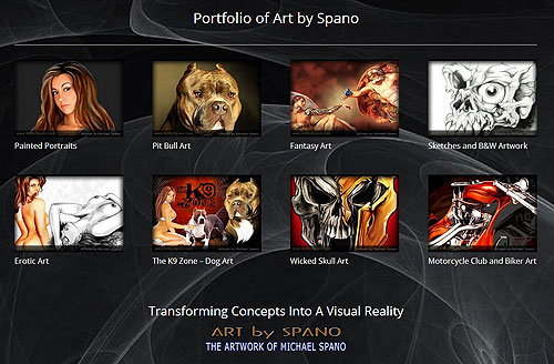 Portfolio of Art by Spano Capture