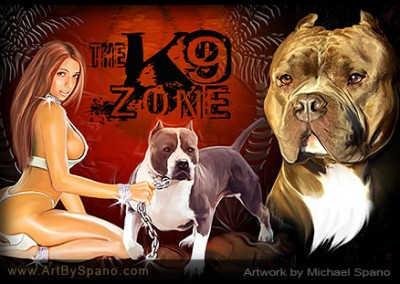 The K9 Zone – Dog Art