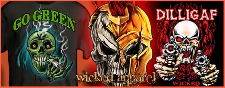 Shop Wicked Apparel by Michael Spano